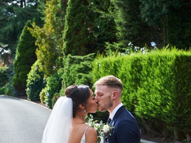 Oliver and Lauren's Wedding in Peover Superior, Cheshire 114