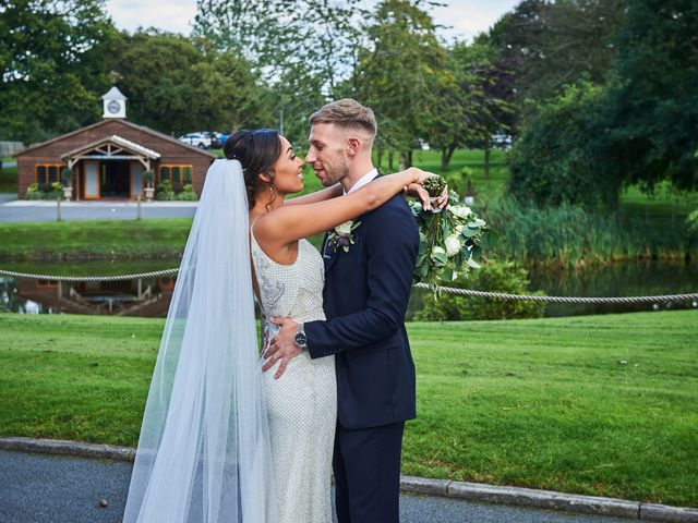 Oliver and Lauren's Wedding in Peover Superior, Cheshire 120