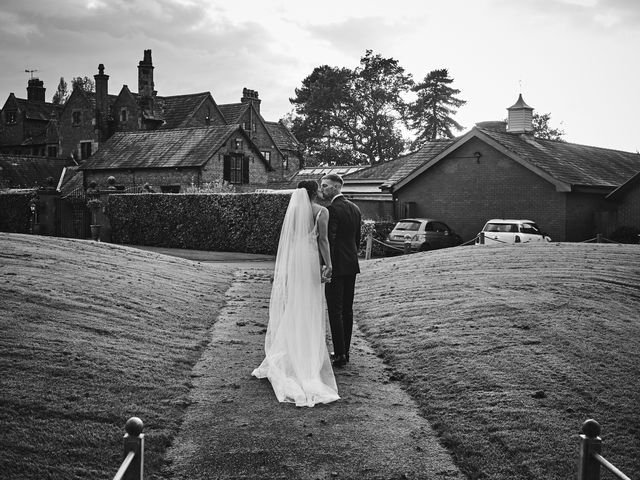 Oliver and Lauren's Wedding in Peover Superior, Cheshire 124