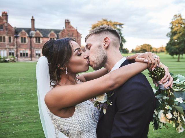 Oliver and Lauren's Wedding in Peover Superior, Cheshire 125