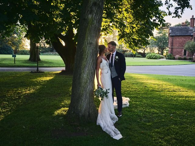 Oliver and Lauren's Wedding in Peover Superior, Cheshire 129
