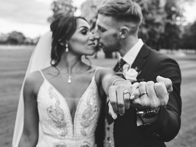 Oliver and Lauren's Wedding in Peover Superior, Cheshire 134