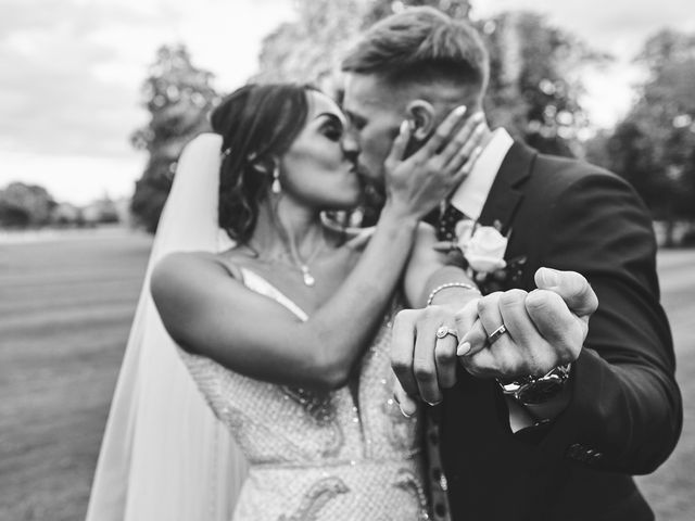 Oliver and Lauren's Wedding in Peover Superior, Cheshire 2
