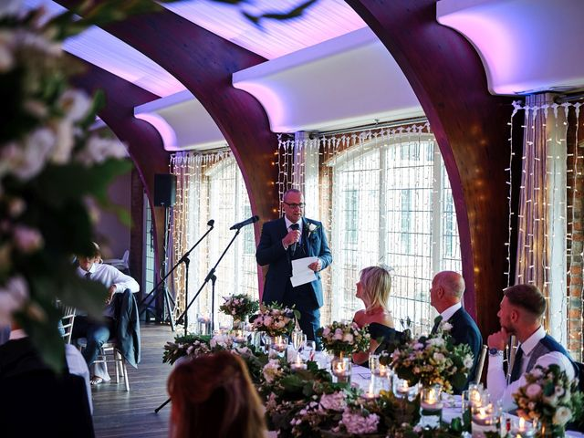 Oliver and Lauren's Wedding in Peover Superior, Cheshire 142