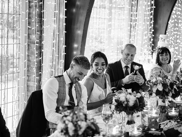 Oliver and Lauren's Wedding in Peover Superior, Cheshire 151