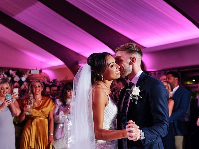 Oliver and Lauren's Wedding in Peover Superior, Cheshire 156