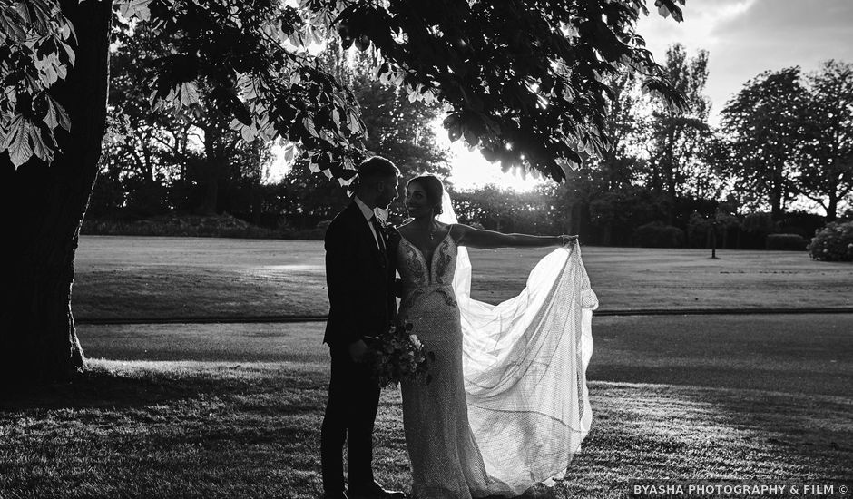 Oliver and Lauren's Wedding in Peover Superior, Cheshire