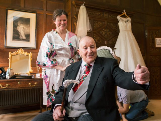 Alastair and Sarah's Wedding in Edenbridge, Kent 5
