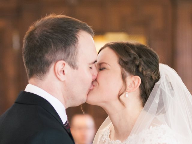 Alastair and Sarah's Wedding in Edenbridge, Kent 13