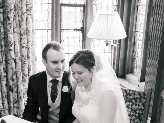 Alastair and Sarah's Wedding in Edenbridge, Kent 15
