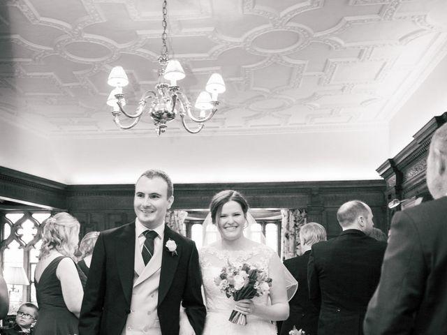 Alastair and Sarah's Wedding in Edenbridge, Kent 16