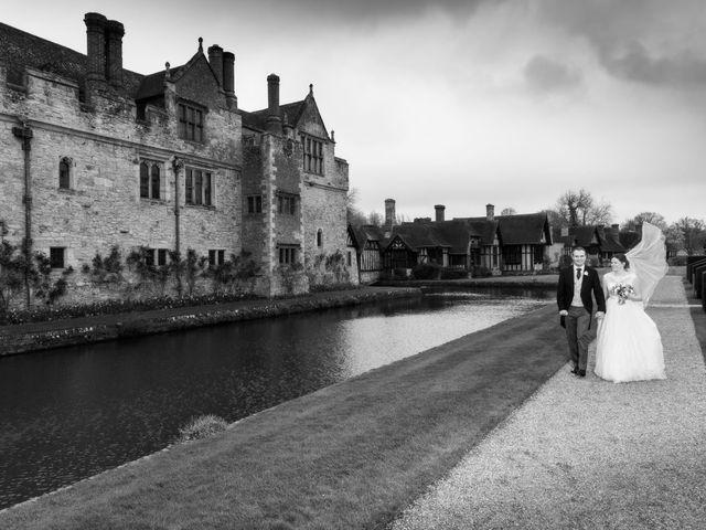 Alastair and Sarah's Wedding in Edenbridge, Kent 19