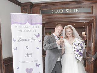 Samantha & Neil's wedding