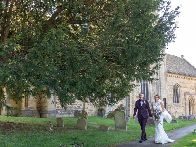 Jamie and Danielle's Wedding in Steventon, Oxfordshire 16