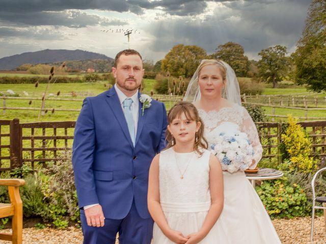 Tracy & Phillip's wedding