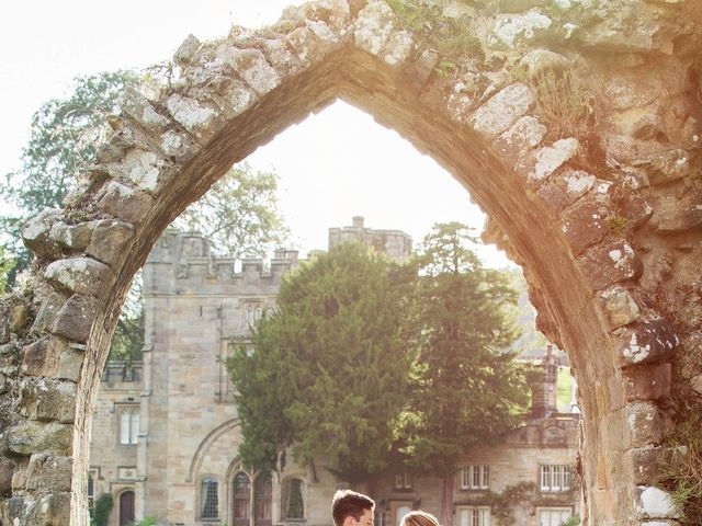 Alex and Hannah's Wedding in Bolton Abbey, North Yorkshire 13
