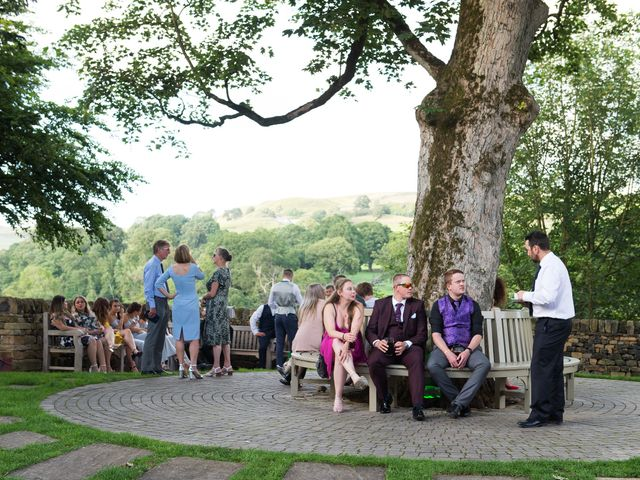 Alex and Hannah's Wedding in Bolton Abbey, North Yorkshire 17