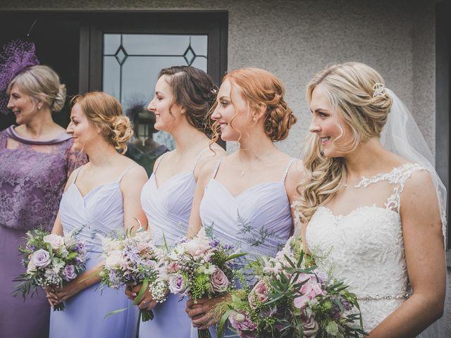 Stu and Amy's Wedding in Ballymena, Co Antrim 15