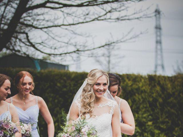 Stu and Amy's Wedding in Ballymena, Co Antrim 16