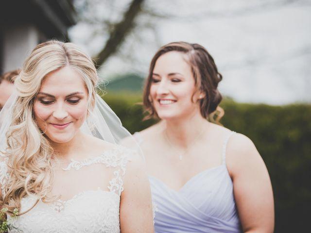 Stu and Amy's Wedding in Ballymena, Co Antrim 17