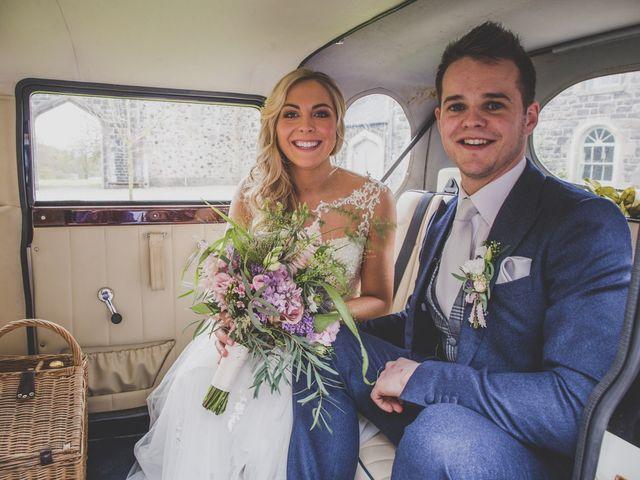 Stu and Amy's Wedding in Ballymena, Co Antrim 32