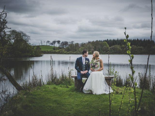 Stu and Amy's Wedding in Ballymena, Co Antrim 44
