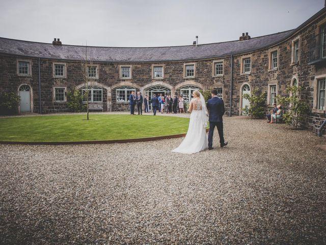 Stu and Amy's Wedding in Ballymena, Co Antrim 50