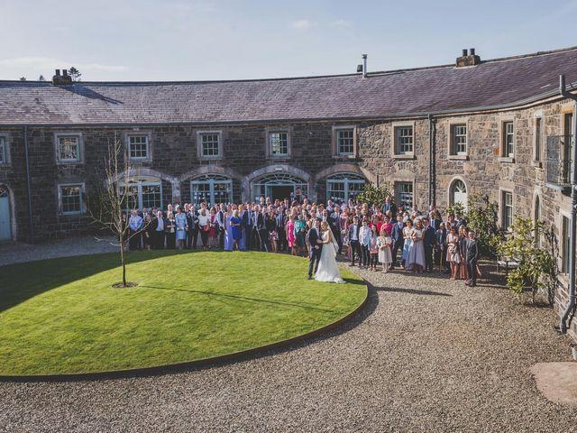 Stu and Amy's Wedding in Ballymena, Co Antrim 57