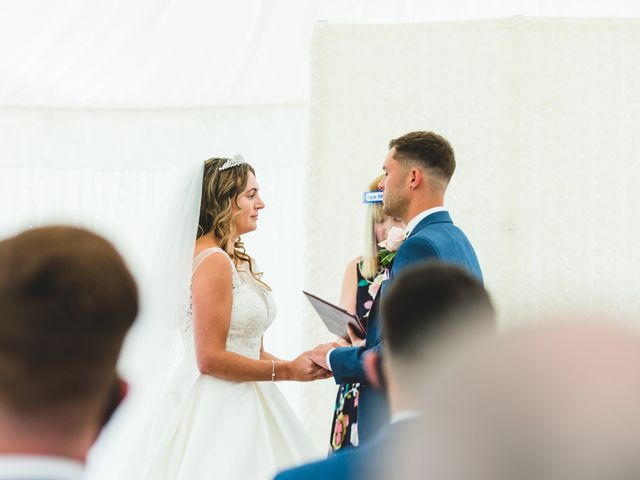 Ryan Wooley and Charli Wooley's Wedding in Leicester, Leicestershire 36