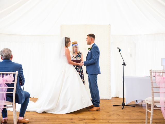 Ryan Wooley and Charli Wooley's Wedding in Leicester, Leicestershire 39