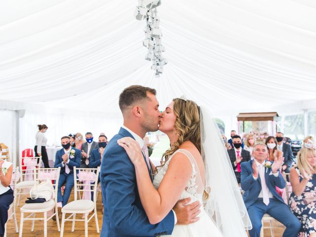 Ryan Wooley and Charli Wooley's Wedding in Leicester, Leicestershire 41