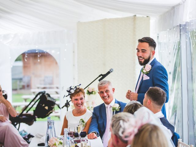 Ryan Wooley and Charli Wooley's Wedding in Leicester, Leicestershire 53