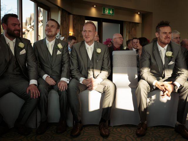 Martin and Samantha's Wedding in Garstang, Lancashire 12