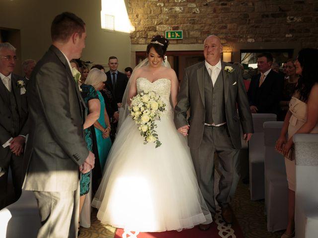 Martin and Samantha's Wedding in Garstang, Lancashire 13