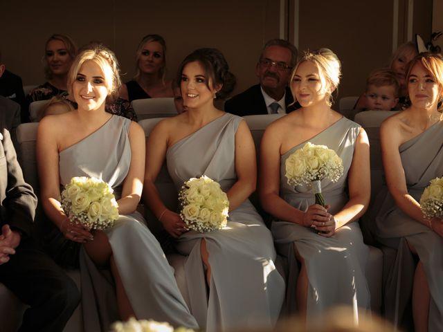 Martin and Samantha's Wedding in Garstang, Lancashire 14