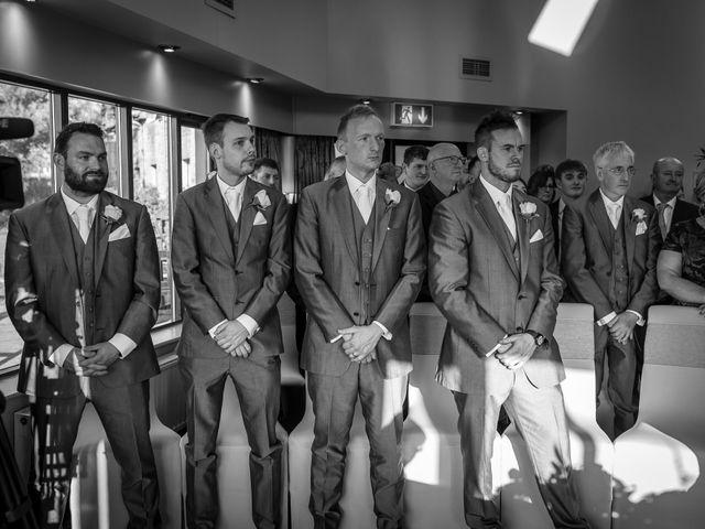 Martin and Samantha's Wedding in Garstang, Lancashire 16