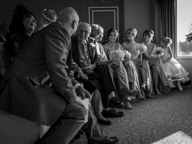 Martin and Samantha's Wedding in Garstang, Lancashire 18