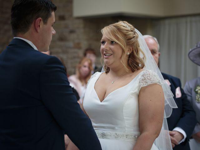 Aimee and Sam's Wedding in Garstang, Lancashire 18