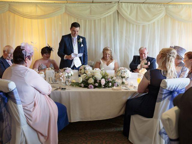 Aimee and Sam's Wedding in Garstang, Lancashire 22
