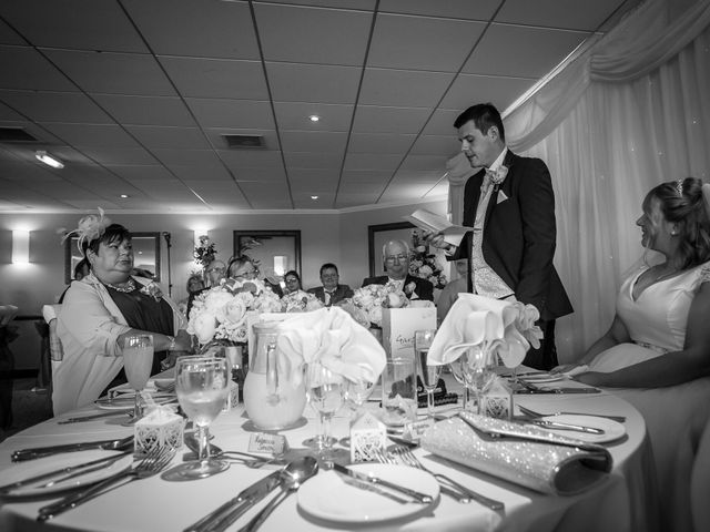 Aimee and Sam's Wedding in Garstang, Lancashire 23