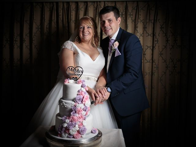 Aimee and Sam's Wedding in Garstang, Lancashire 32