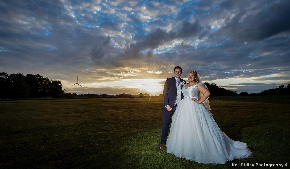 Aimee and Sam's Wedding in Garstang, Lancashire