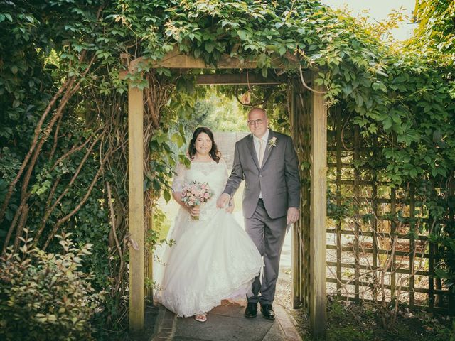 Karl and Katie's Wedding in The New Forest, Hampshire 5