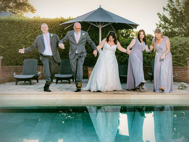 Karl and Katie's Wedding in The New Forest, Hampshire 8