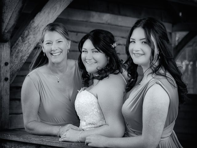 Karl and Katie's Wedding in The New Forest, Hampshire 9