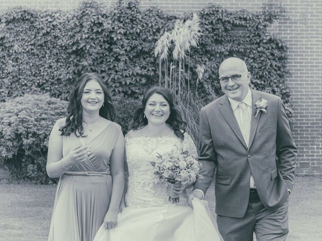 Karl and Katie's Wedding in The New Forest, Hampshire 19