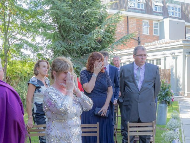 Karl and Katie's Wedding in The New Forest, Hampshire 27