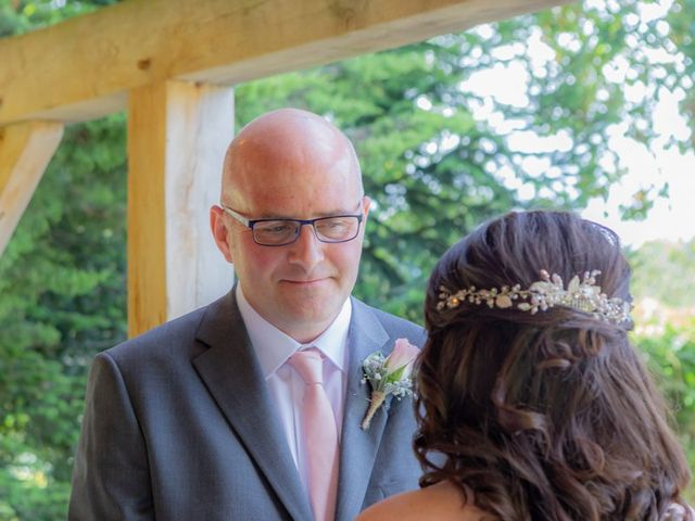 Karl and Katie's Wedding in The New Forest, Hampshire 30