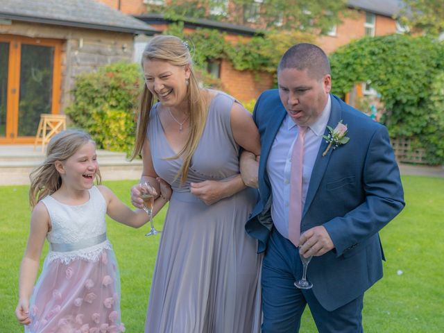 Karl and Katie's Wedding in The New Forest, Hampshire 37