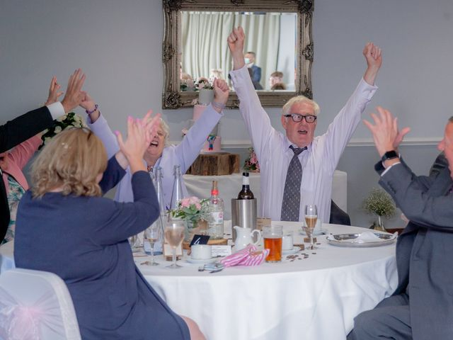 Karl and Katie's Wedding in The New Forest, Hampshire 43